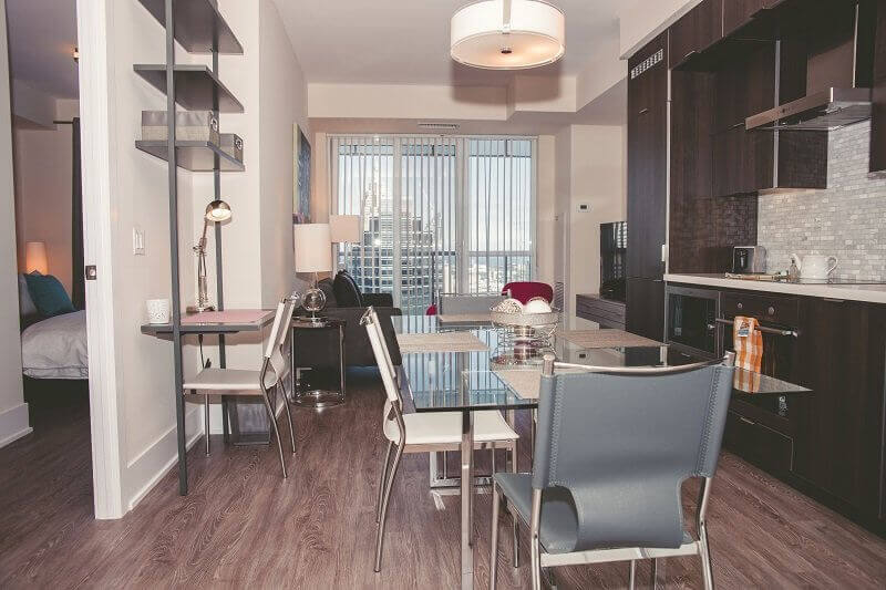 Portland Suite Furnished Apartment Rentals Toronto