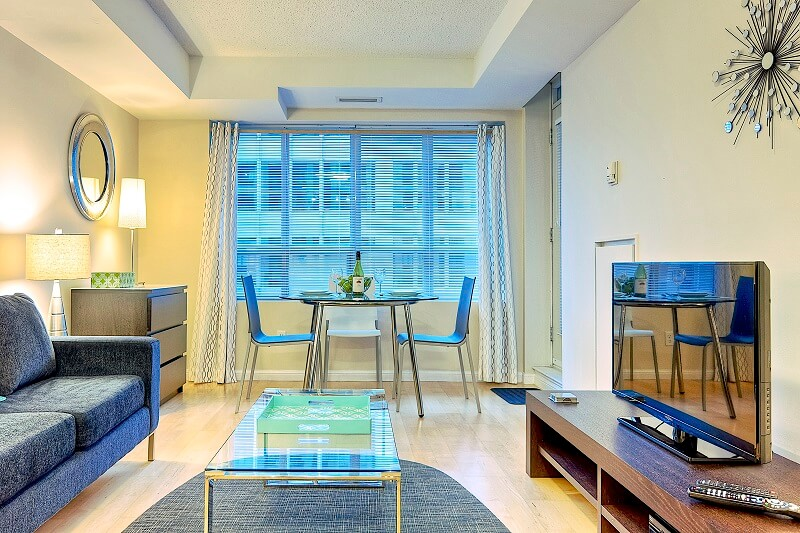Wellington Suite Furnished Apartment Rental Toronto